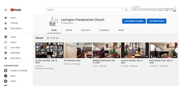 Live Worship & Video Channel